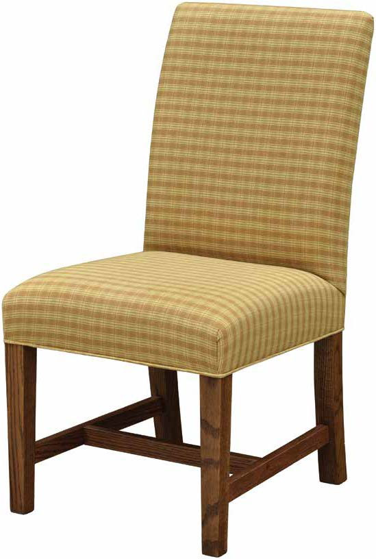 Lincoln Low Back Straight Top Dining Chair
