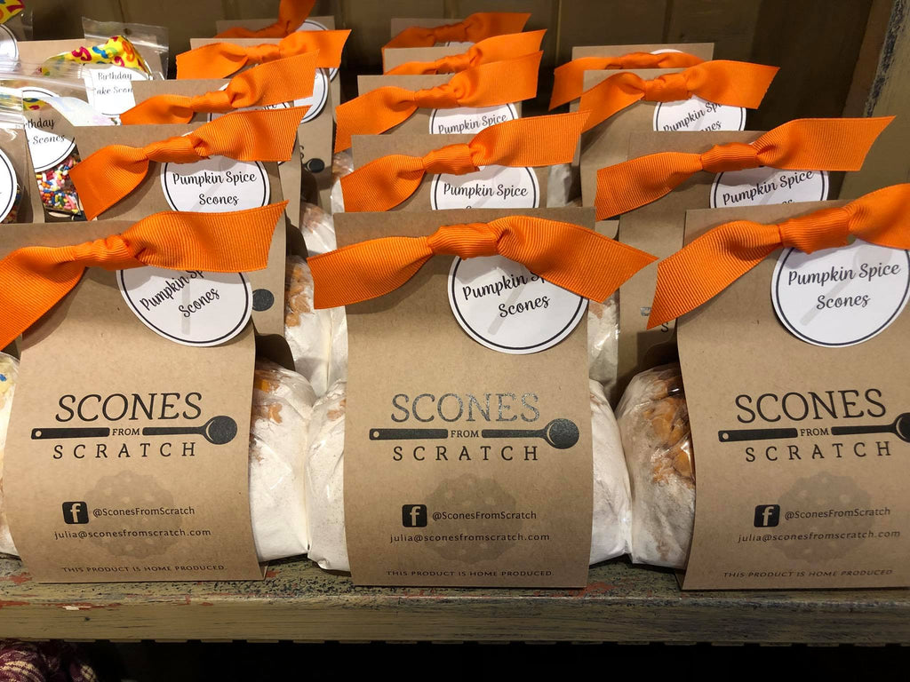 Pumpkin Spice Scones From Scratch Mix