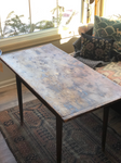 Early Single Leaf Antique Table at Pine Cone Gift Shoppe