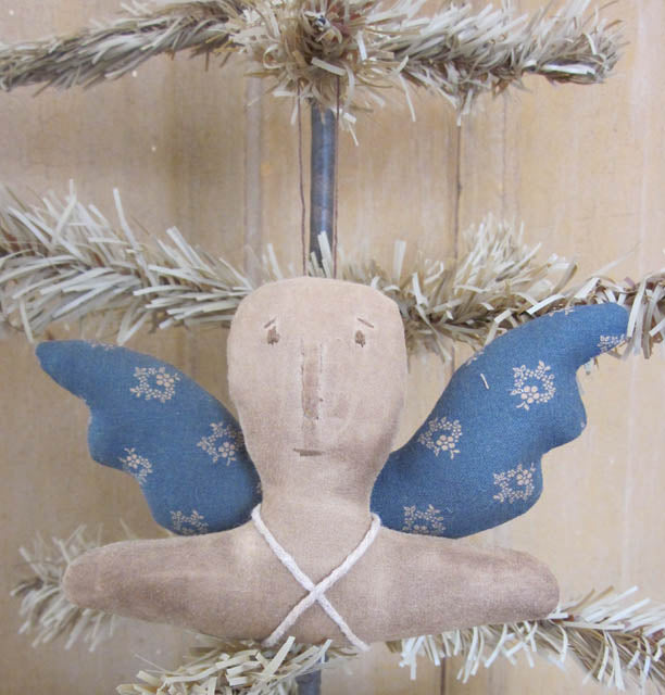 White Angel Ornament