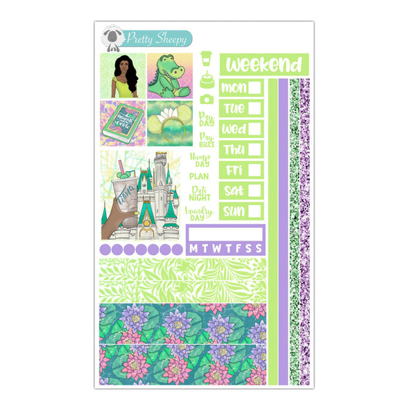 Bayou Princess Hobonichi Weeks Stickers