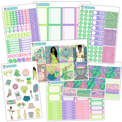 Bayou Princess Planner Stickers Collection