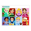 Colorful Christmas Princesses Collection