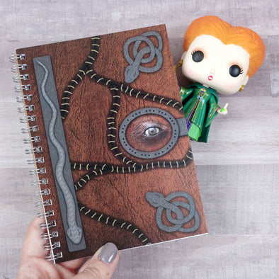 Hocus Pocus notebook, journal, diary, memory book, scrapbook, autograph book
