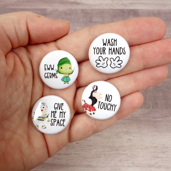 Stay Healthy Button Pack