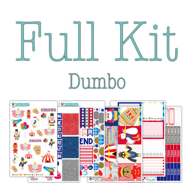 Dumbo Planner Stickers Collection