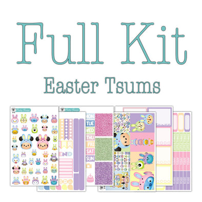 Easter Tsums Disney Planner Stickers Collection