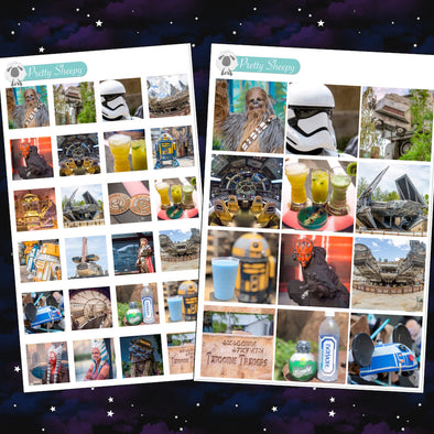 Star Wars Photo Boxes Stickers