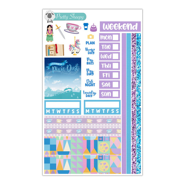 Fantasyland Hobonichi Weeks Stickers