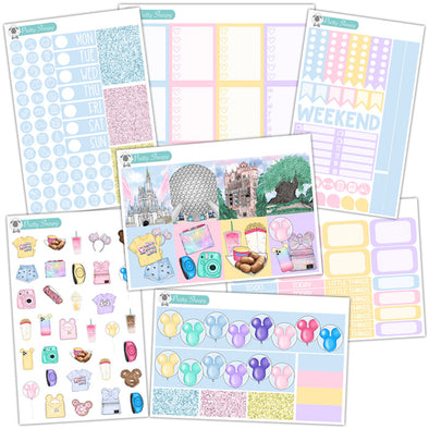 Four Parks One World Planner Stickers Collection