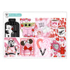 Galactic Valentine Planner Stickers Collection