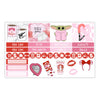 Galactic Valentine Monthly Kit for Erin Condren Planner