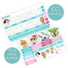 Galactic Birthday Monthly Kit for Erin Condren Planner - Pick ANY Month!