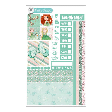Lucky Princesses Hobonichi Weeks Stickers