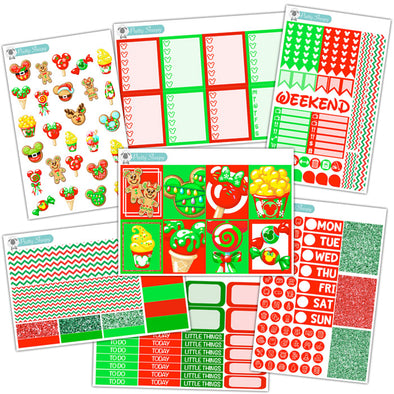 Merry Treats Planner Stickers Collection