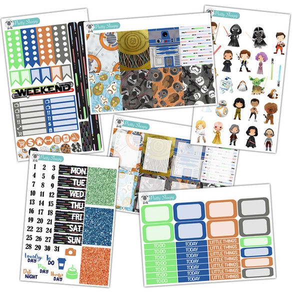 Star Wars Collection - Star Wars Planner Stickers