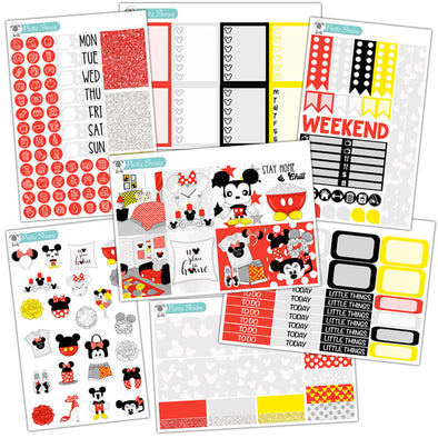 No Place Like Home Planner Stickers Collection