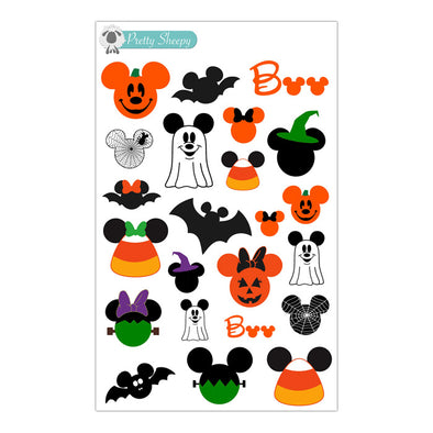 Mickey Halloween Stickers