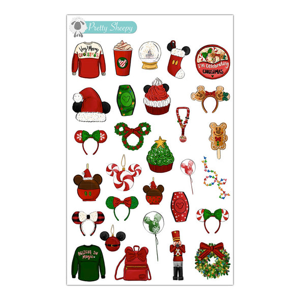 Magical Christmas Stickers