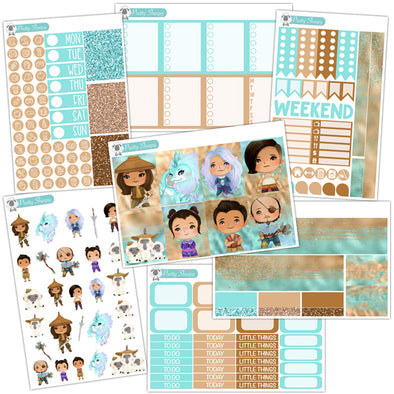 Raya & the Last Dragon Planner Stickers Collection