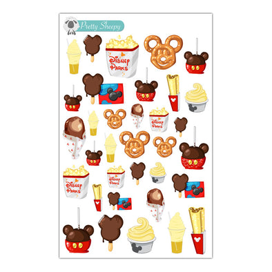Disney Parks Snacks & Treats Stickers