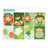 St. Patrick's Day Planner Stickers Collection