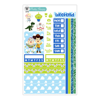 Toy Story Hobonichi Weeks Stickers