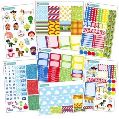 Toy Story Planner Stickers Collection