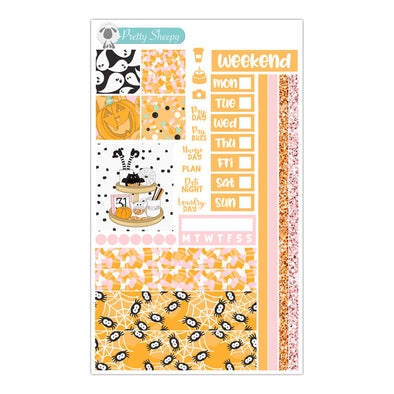 Trick or Treat Hobonichi Weeks Stickers