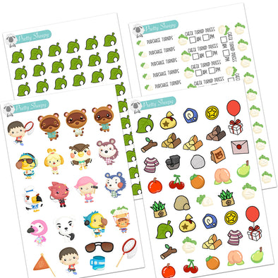 Animal Game Stickers
