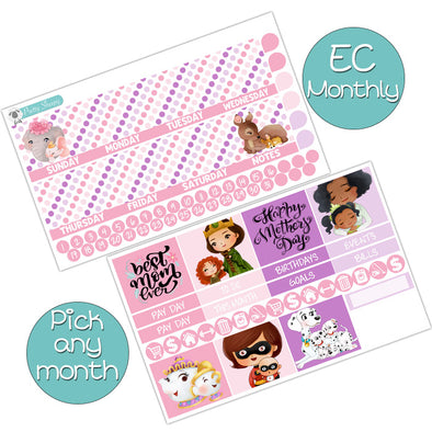 Best Mom Ever Monthly Kit for Erin Condren Planner - Pick ANY Month!