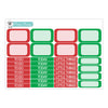 Christmas Photos Planner Stickers Collection