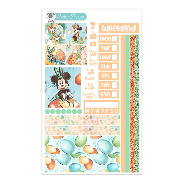 Clubhouse Easter Hobonichi Weeks Stickers