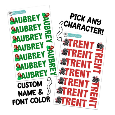 Custom Name Labels