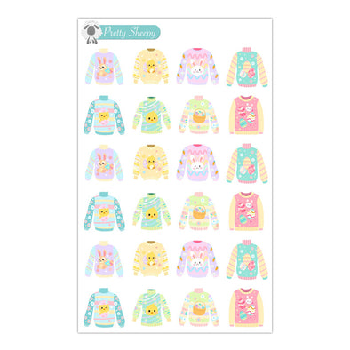 Easter Sweaters Stickers