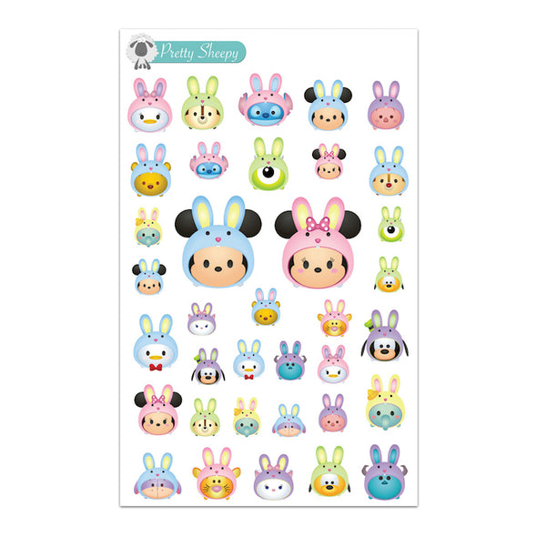 Easter Tsums Stickers