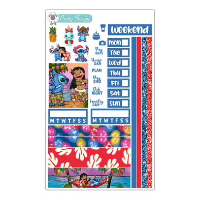 Hawaiian Holiday Hobonichi Weeks Stickers