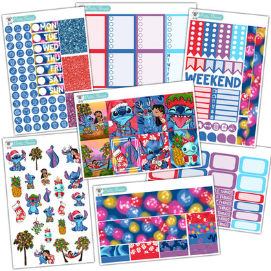 Hawaiian Holiday Planner Stickers Collection