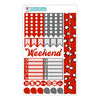 Hugs & Kisses Planner Stickers Collection