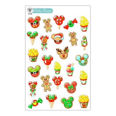 Merry Treats Stickers