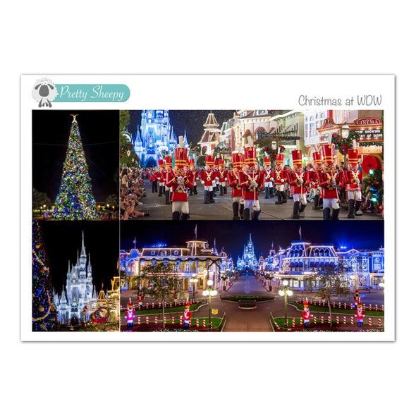 Christmas at WDW Photos Stickers