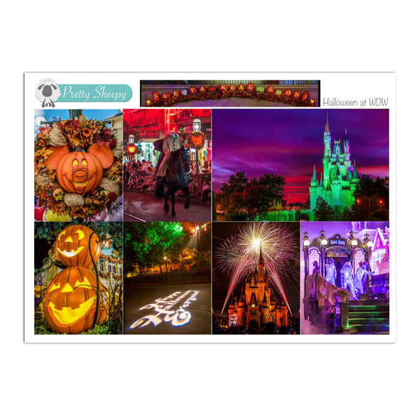 Halloween at WDW Full Box Stickers