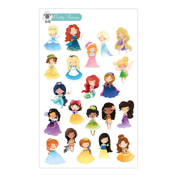Princess Stickers V2