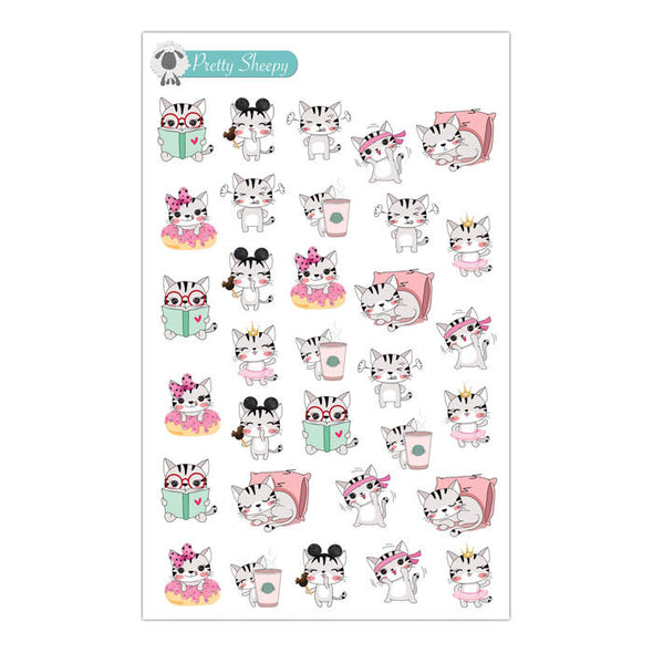 Cat Sampler Stickers