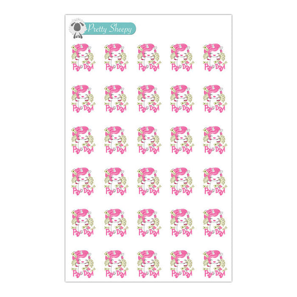 Pay Day Unicorn Stickers