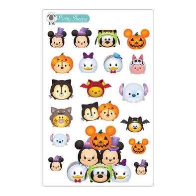 Spooky Tsums Halloween Stickers