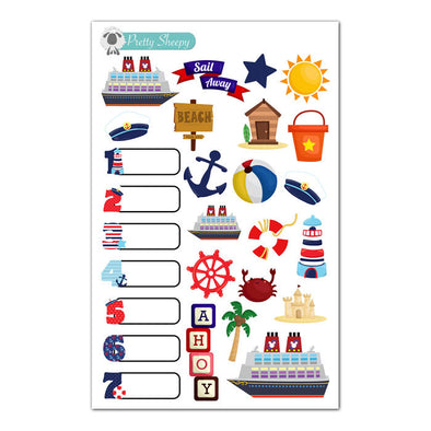 Disney Cruise Stickers