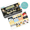 New Year Tsum January Monthly Kit for the Erin Condren Planner