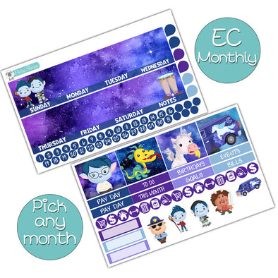 Onward Monthly Kit for Erin Condren Planner - Pick ANY Month!