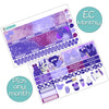 Potion Purple Monthly Kit for Erin Condren Planner - Pick ANY Month!